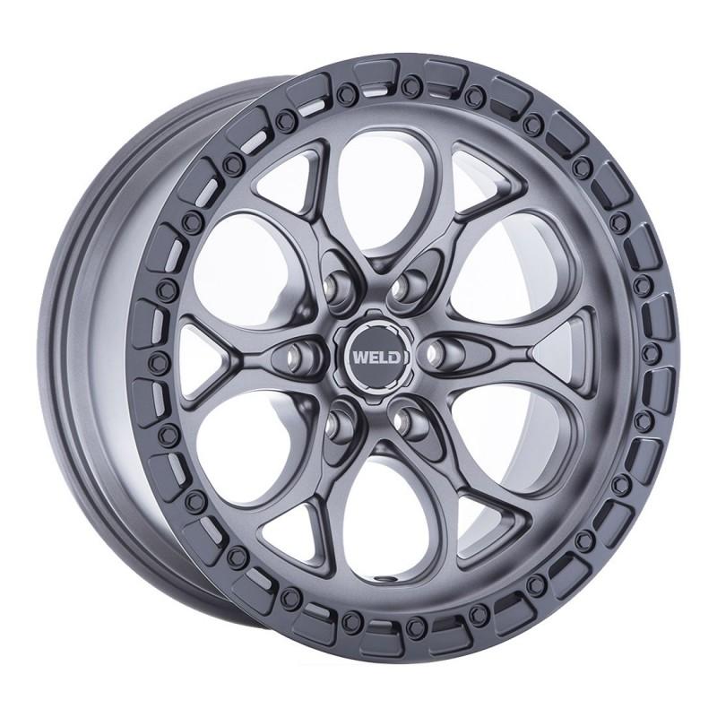 WELD Off-Road 20x12 Ledge Six W106 Satin Gunmetal with Satin Black Lip | 6x139.7 | -44 Offset ...jpg