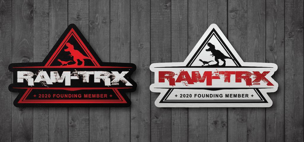 RAM TRX Forum Stickers